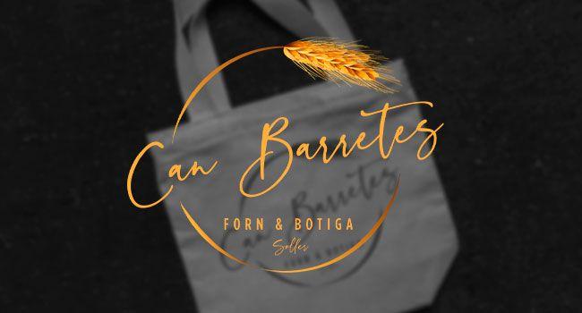 Diseño logo profesional Mallorca - Can Barretes
