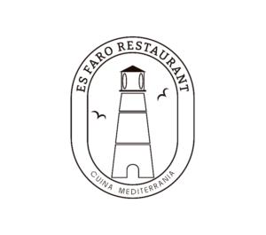 Diseño logotipo profesional Mallorca - Es Faro Restaurant